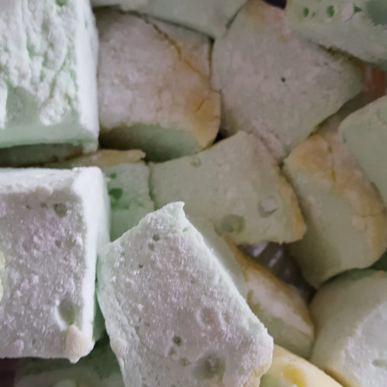 lemon and lime marshmallow